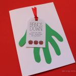 Teacher Card: Hands Down You're The Best Teacher Around W/ Free   Hands Down You Re The Best Teacher Around Free Printable