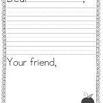 Teacher Idea Factory: Pen Pal News + Friendly Letter Freebie | First   Free Printable Letter Writing Templates