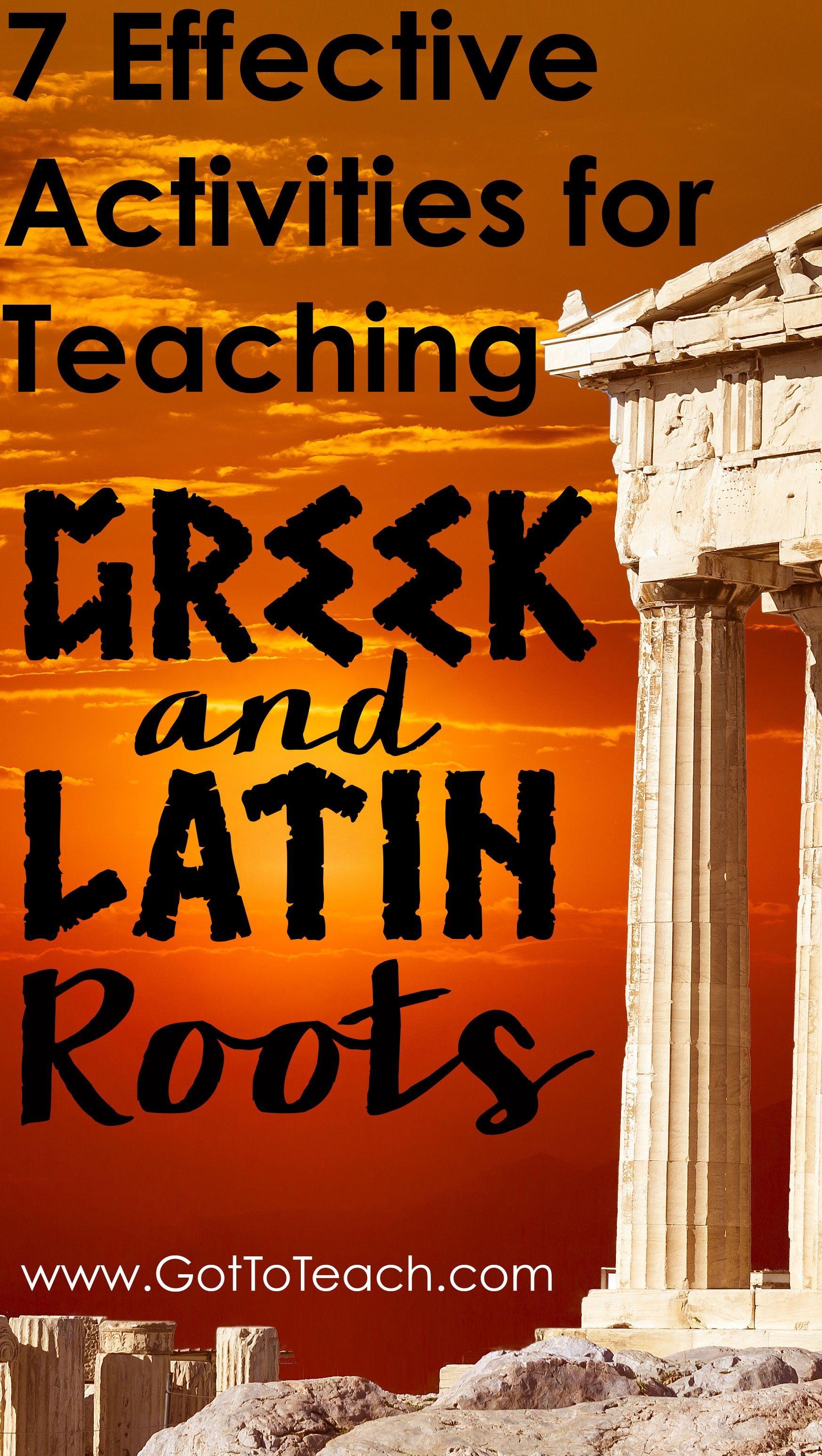 Teaching Greek And Latin Roots | Fifthgradeflock | Teaching - Free Printable Greek And Latin Roots