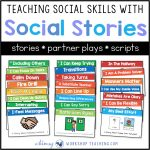 Teaching Social Skills With Social Stories   Whimsy Workshop Teaching   Free Printable Social Stories For Kids