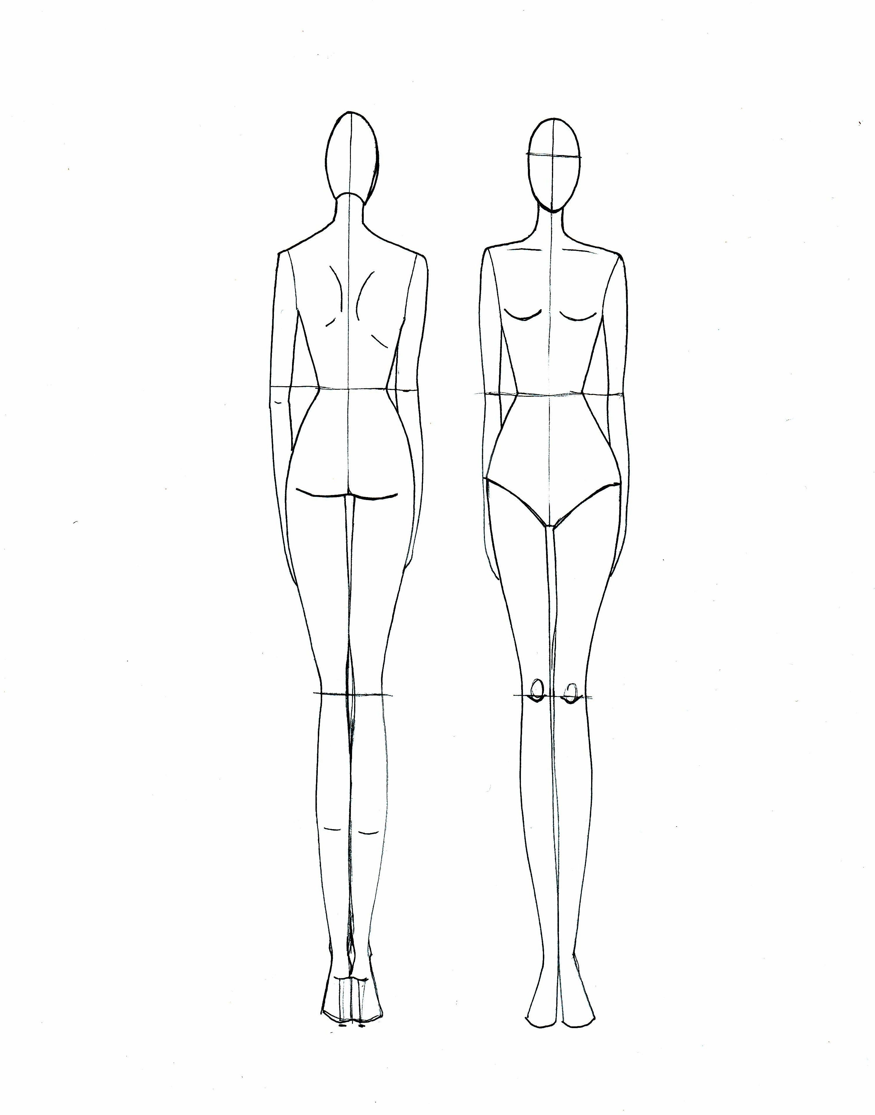 Template | Templates In 2019 | Fashion Model Sketch, Fashion - Free Printable Fashion Model Templates