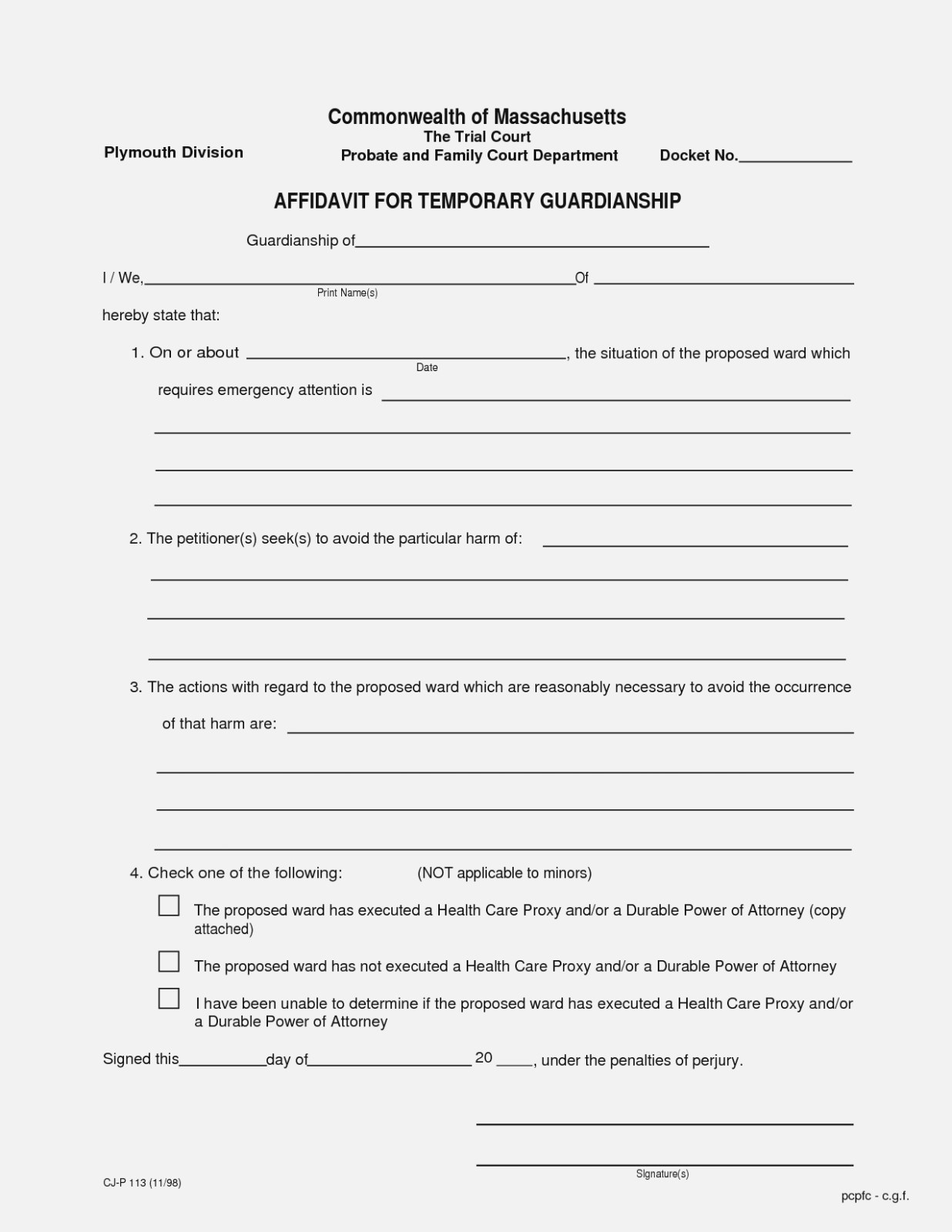 Ten Things You Probably | Realty Executives Mi : Invoice And Resume - Free Printable Temporary Guardianship Form