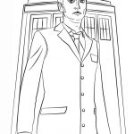 Tenth Doctor Coloring Page | Free Printable Coloring Pages   Doctor Coloring Pages Free Printable
