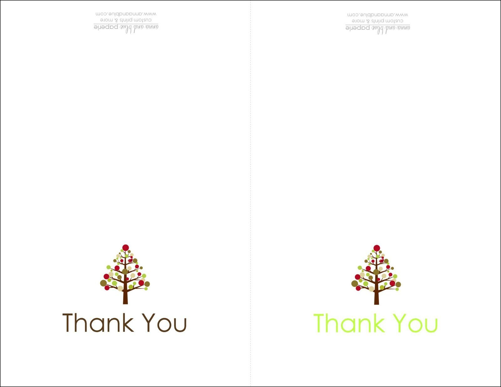 Thank You Cards Printable | Printable | Free Printable Christmas - Free Online Printable Christmas Cards