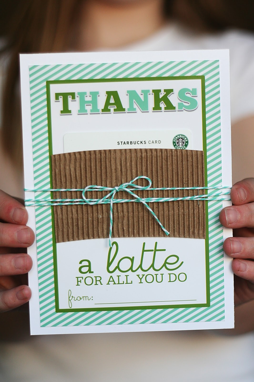 Thanks A Latte Card You Can Print For Free | Eighteen25 - Free Printable Volunteer Thank You Cards