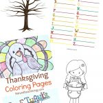 Thanksgiving Printables For Kids   Natural Beach Living   Free Printable Thanksgiving Activities