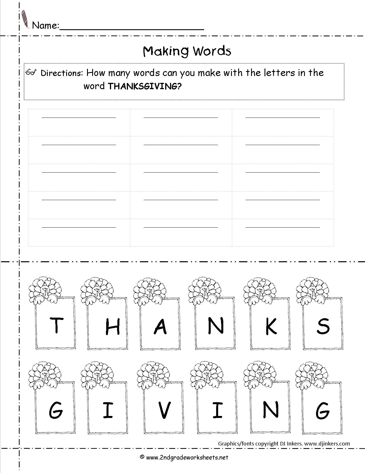 Thanksgiving Printouts And Worksheets - Free Printable Thanksgiving Math Worksheets For 3Rd Grade