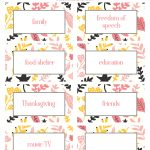 Thanksgiving Thankfulness With Free Printable Cards   Free Printable Cards