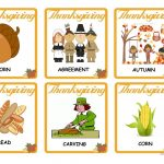 Thanksgiving   Vocabulary Flash Cards Worksheet   Free Esl Printable   Free Printable Vocabulary Flashcards