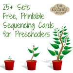 The Activity Mom   Sequencing Cards Printable   The Activity Mom   Free Printable Sequencing Cards For Preschool