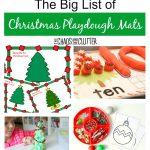 The Big List Of Christmas Playdough Mats   Free Printable Playdough Mats