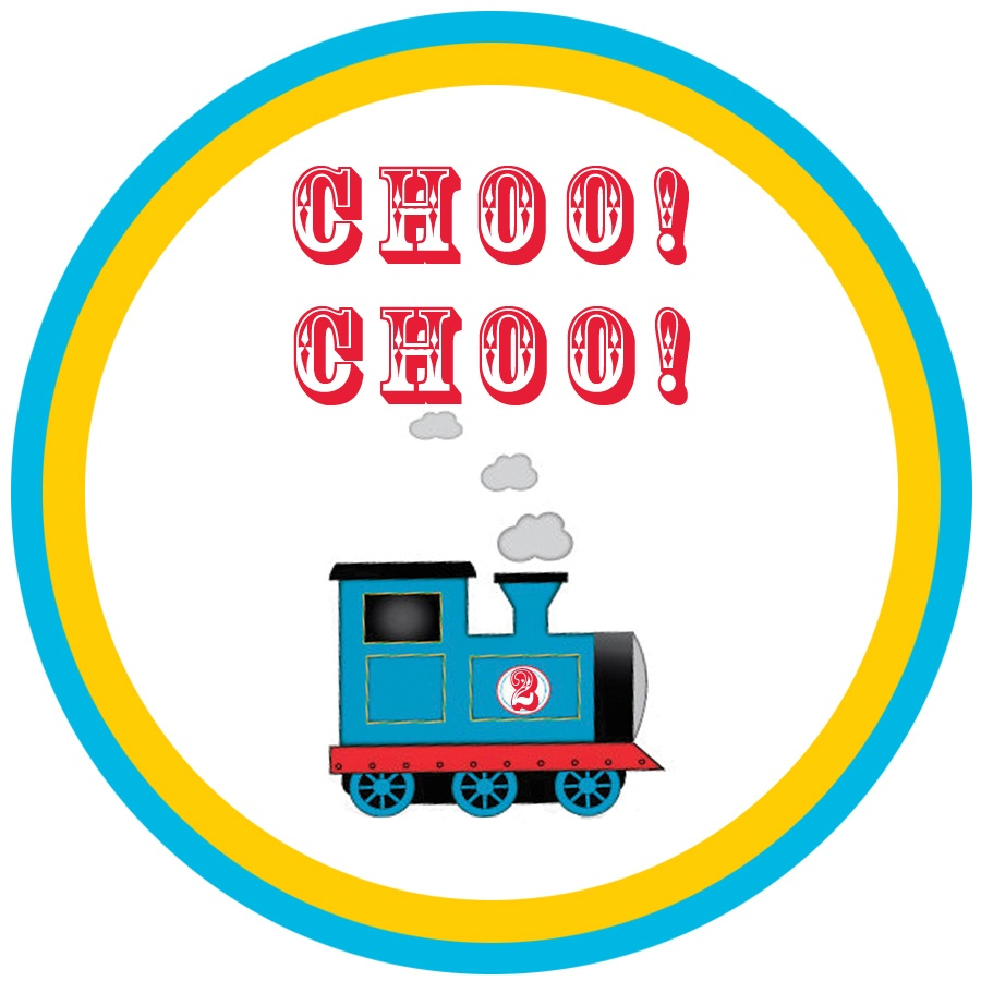 The Blooming Orchids: Thomas The Train Party With Free Printables! - Free Printable Thomas The Train Cupcake Toppers