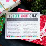 The Christmas Left Right Game (W/printable Story)   It's Always Autumn   Free Printable Religious Christmas Games