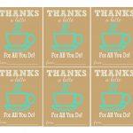 The Larson Lingo: Thanks A Latte {Free Printable}   Thanks A Latte Free Printable