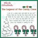 The Legend Of The Candy Cane: Free Printable And A Giveaway   Free Printable Candy Cane Poem