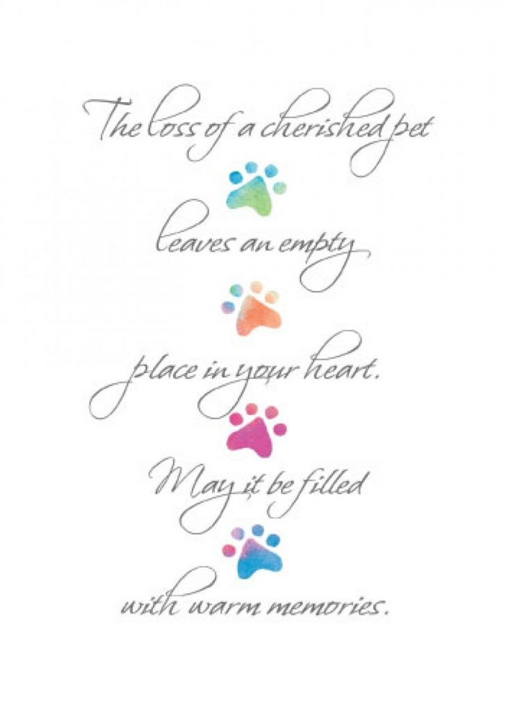 Free Printable Sympathy Cards For Loss Of Dog
