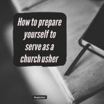 The Ministry Of Church Ushers: A Starter's Guide To Usher Ministry   Free Printable Church Usher Hand Signals