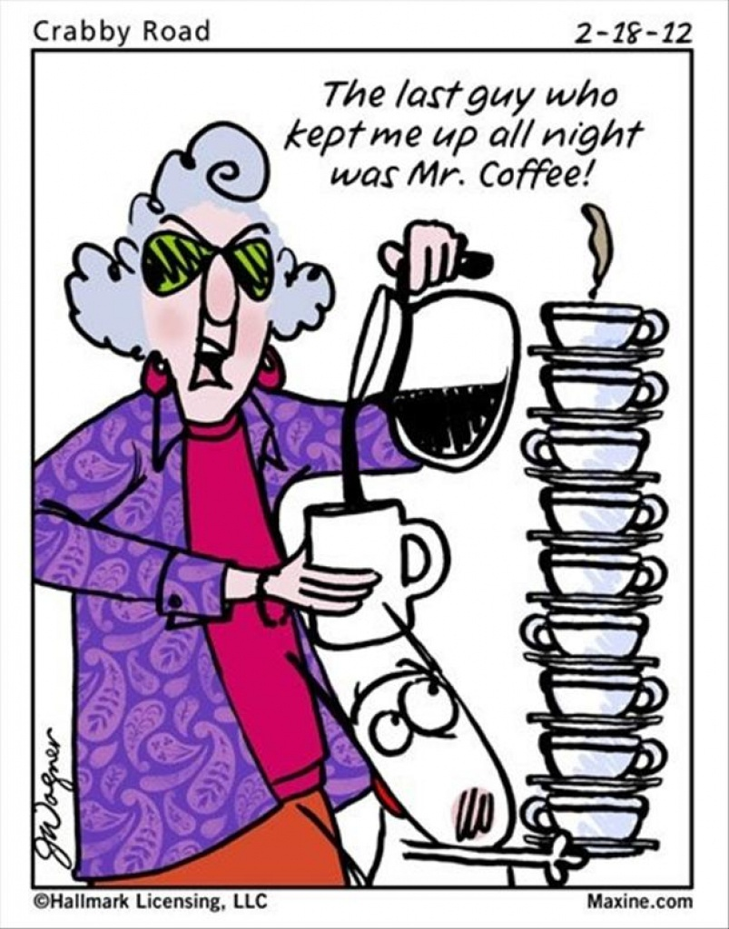 The Morning Funnys - Maxine Funny's In Free Printable Maxine - Free - Free Printable Maxine Cartoons