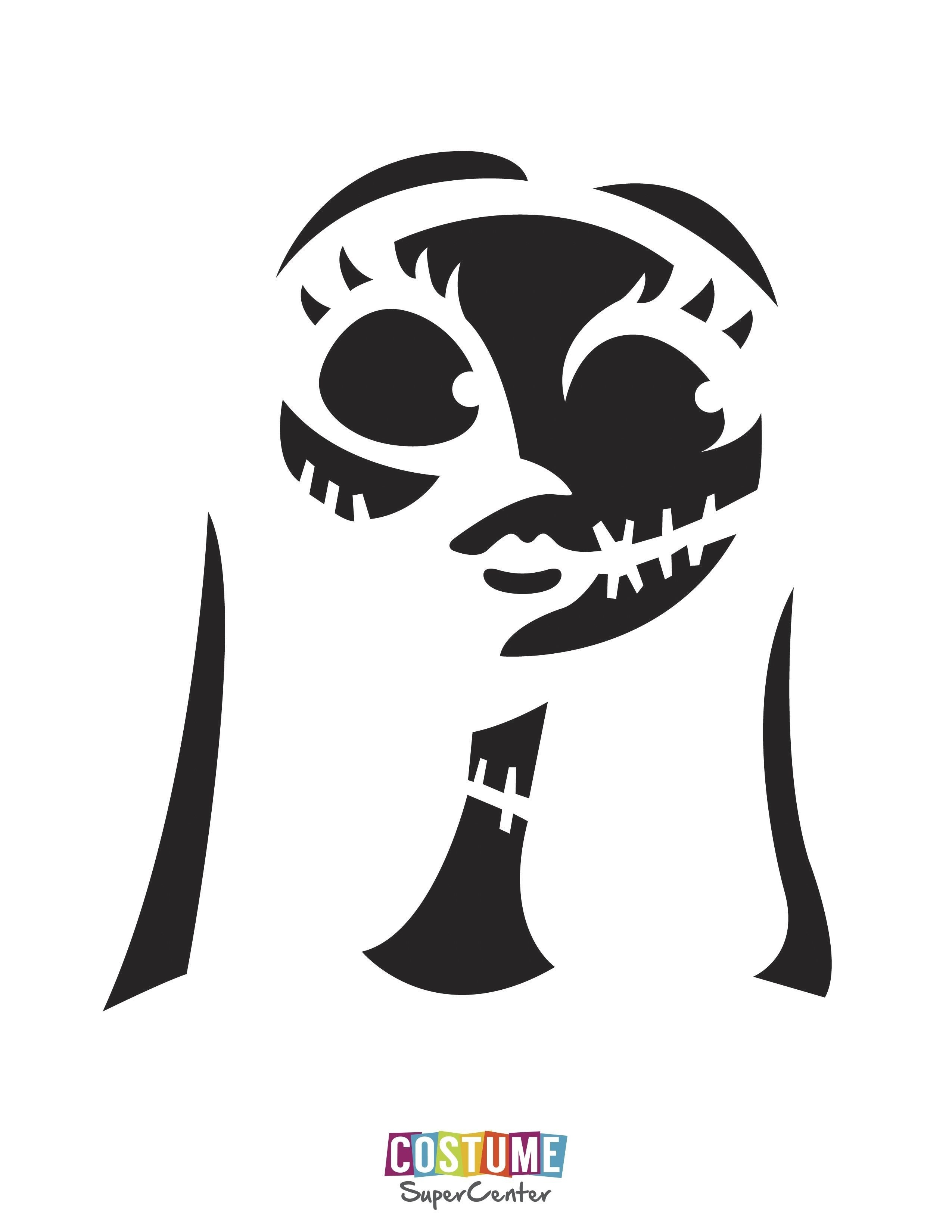 The Nightmare Before Christmas Pumpkin Stencils Free | Theveliger - Jack Skellington And Sally Pumpkin Stencils Free Printable