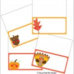 The Sassy Pack Rat: Thanksgiving Place Card Printable Freebie   Free Printable Thanksgiving Place Cards