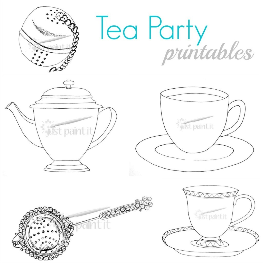 The Ultimate List Of Tea Party Ideas And Freebies! - Homeschool - Free Printable Tea Party Games