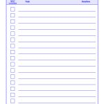 Things To Do List Template Pdf   Free Printable To Do List Pdf