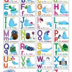 This Colorful Alphabet Chart Has Upper And Lowercase Letters, Simple   Free Printable Alphabet Letters Upper And Lower Case