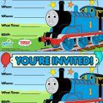 Thomas & Friends Party Invitation: Free | Birthday Party Ideas   Thomas Invitations Printable Free