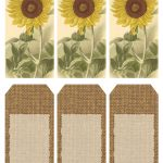 """Those Who Bring Sunshine"""" ~ Printable Sheet Of 6 Sunflower And   Free Printable Sunflower Template"""