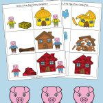 Three Little Pigs Sequencing Cards   Fun With Mama   Free Printable Sequencing Cards