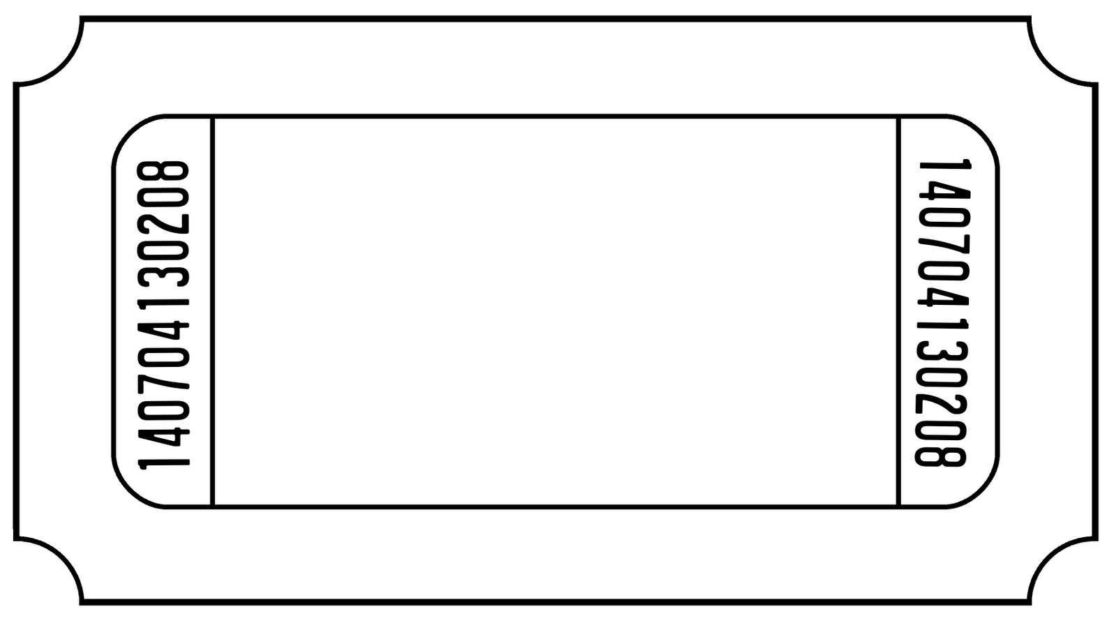 Ticket Outline Template - Kaza.psstech.co - Create Tickets Free Printable
