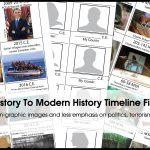 Timeline Figures For K 6: Free Printable ~ Homeschooling2E   Free Printable Timeline Figures