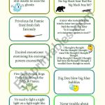 Tongue Twisters   Esl Worksheethayet   Free Printable Tongue Twisters