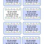 Tongue Twisters Worksheet   Free Esl Printable Worksheets Made   Free Printable Tongue Twisters