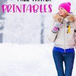 Top 10 Free Winter Printables   Sarah Titus   Free Printable Winterization Stickers