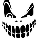 Top 100+ Jack O Lantern Faces Patterns Stencils Ideas | Halloween   Pumpkin Patterns Free Printable