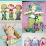 Top Mermaid Rag Dolls Sewing Patterns | Analina Rag Dolls Blog Post   Free Printable Cloth Doll Sewing Patterns