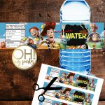 Toy Story 4 Water Labels Instant Download In 2019   Party Printables   Free Printable Toy Story Water Bottle Labels