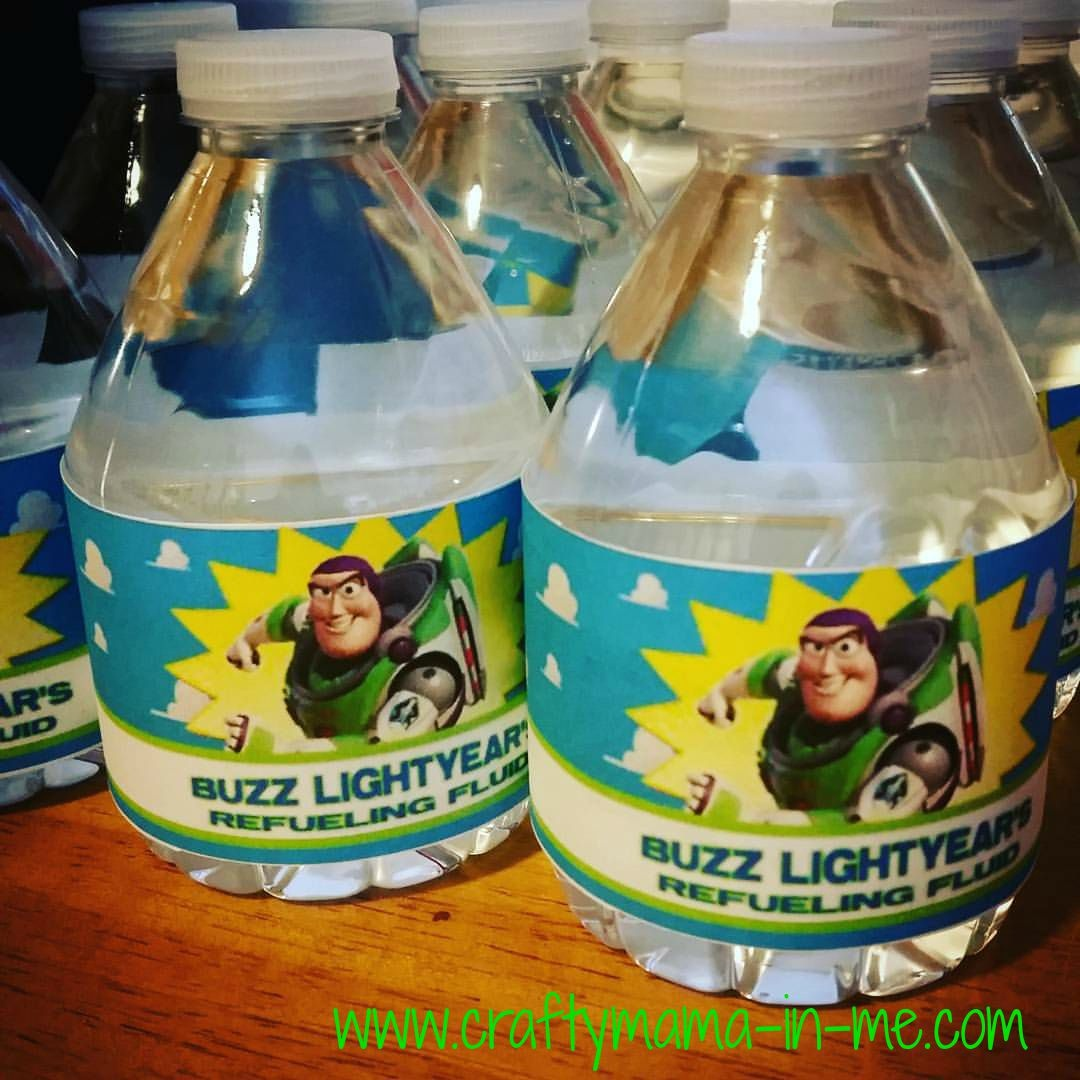 Toy Story Themed Birthday Party - Crafty Mama In Me! - Free Printable Toy Story Water Bottle Labels