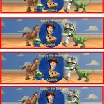 Toy Story ~ Water Bottle Lables   Digital Scrapbooking At Scrapbook   Free Printable Toy Story Water Bottle Labels