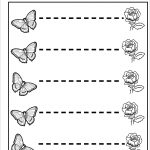 Tracing The Line Free Printable Line Tracing Worksheets Tracing   Free Printable Preschool Worksheets Tracing Lines