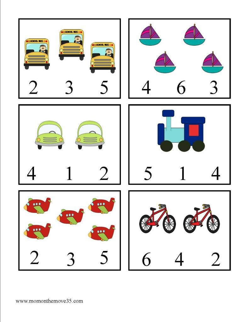 Transportation Activities For Preschoolers | Best Of Mom On The Move - Free Printable Transportation Worksheets For Kids