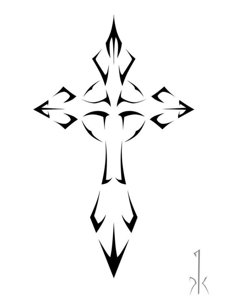 Free Printable Cross Tattoo Designs