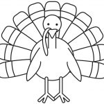 Turkey Coloring Page   Free Large Images | School Decoration Ideas   Free Printable Turkey Template
