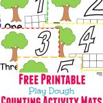 Tutti Frutti Scented Play Dough + Free Printable Playdough Mats   Free Printable Playdough Mats