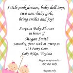Twins Baby Shower Invitations Templates Twin Girl Baby Shower   Create Your Own Baby Shower Invitations Free Printable