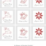 Ultimate Collection Of Free Printable Christmas Gift Tags   Frugal   Diy Christmas Gift Tags Free Printable