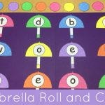 Umbrella Roll And Cover File Folder Game For Preschool And   Free Printable Math File Folder Games For Preschoolers