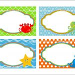 Under The Sea Food Labels Free Printable Tags   Imagestack   Free Printable Name Tags For Preschoolers