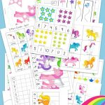 Unicorn Preschool Activity Pack | Free Printable Activities   Free Printable Learning Pages